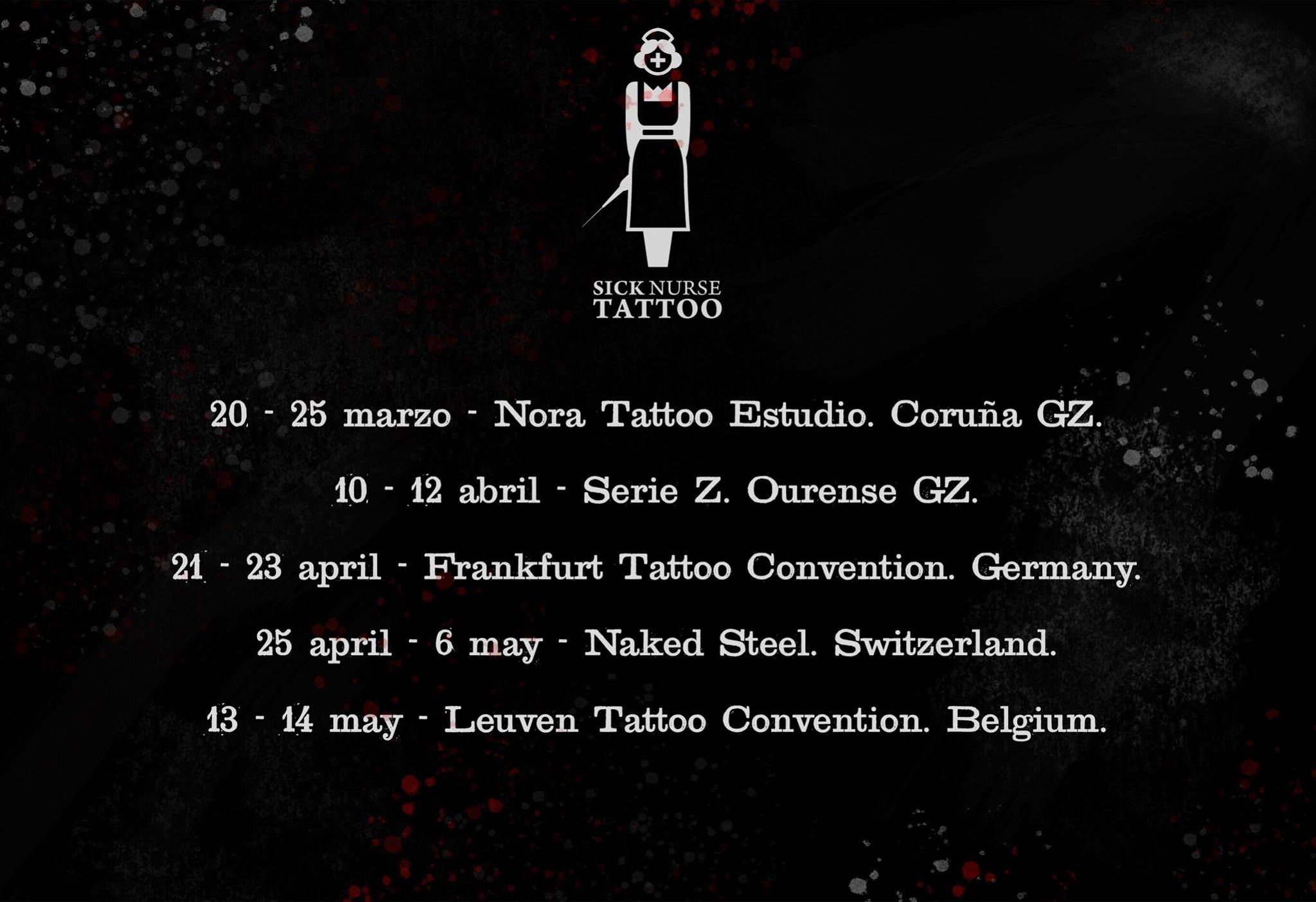 on the road marzo abril mayo