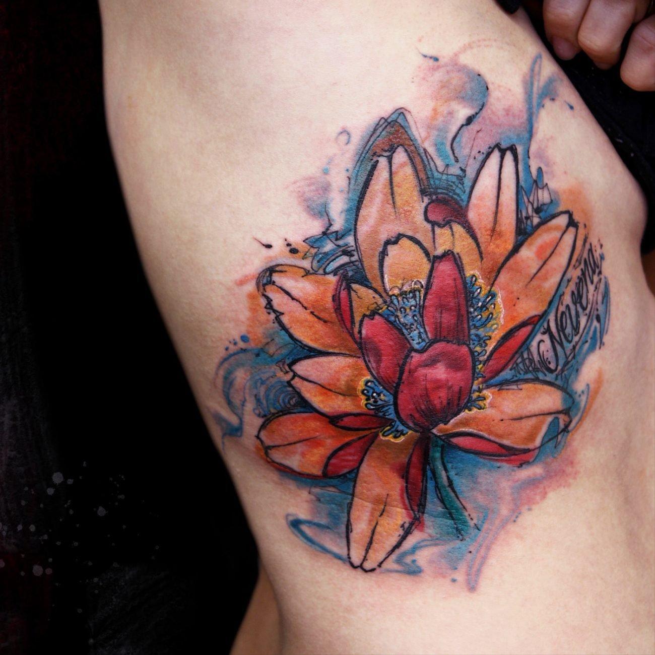 Loto Sick Nurse Tattoo By Rafa Garabal
