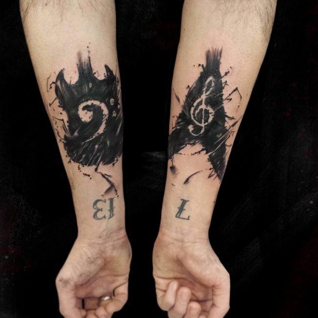 Rock tatuaje