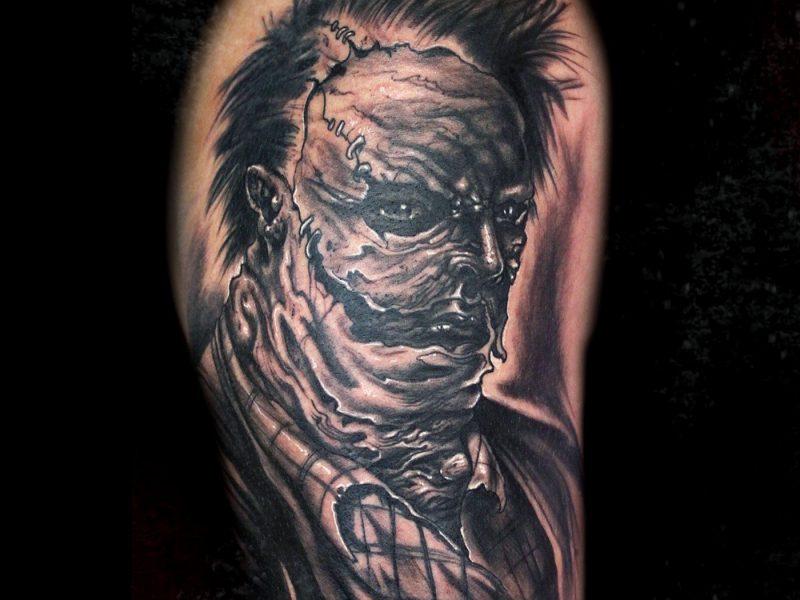 leatherface tatuaje la matanza de texas