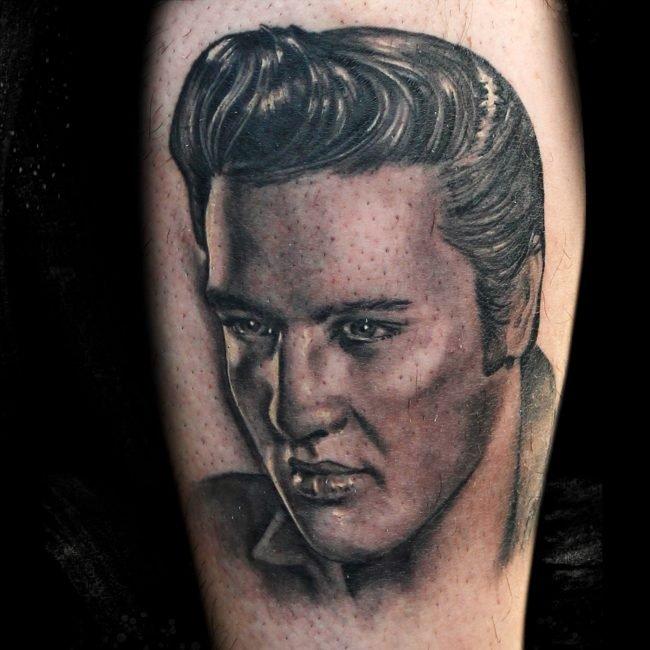 tatuaje Elvis Priestley