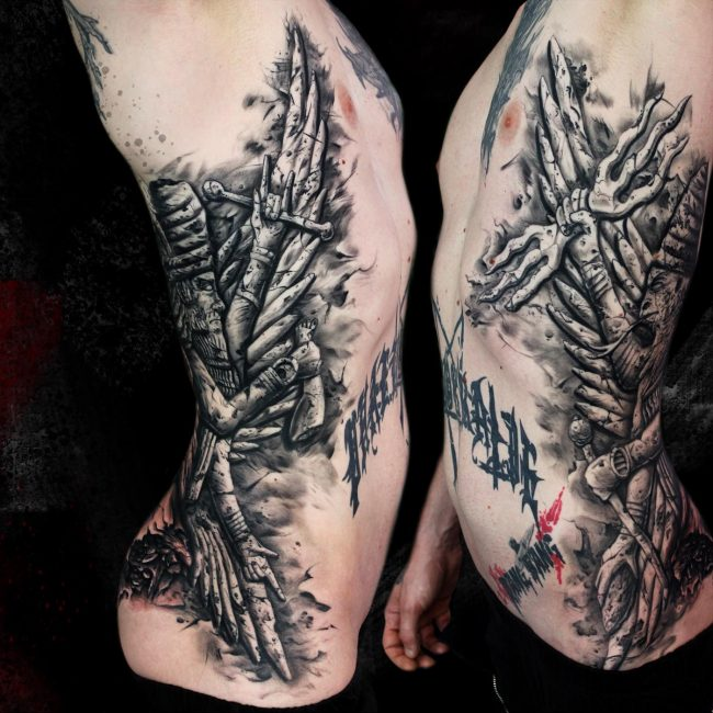 dioses sumerios tatuaje