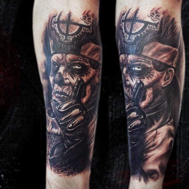 tatuaje emeritus ghost rock