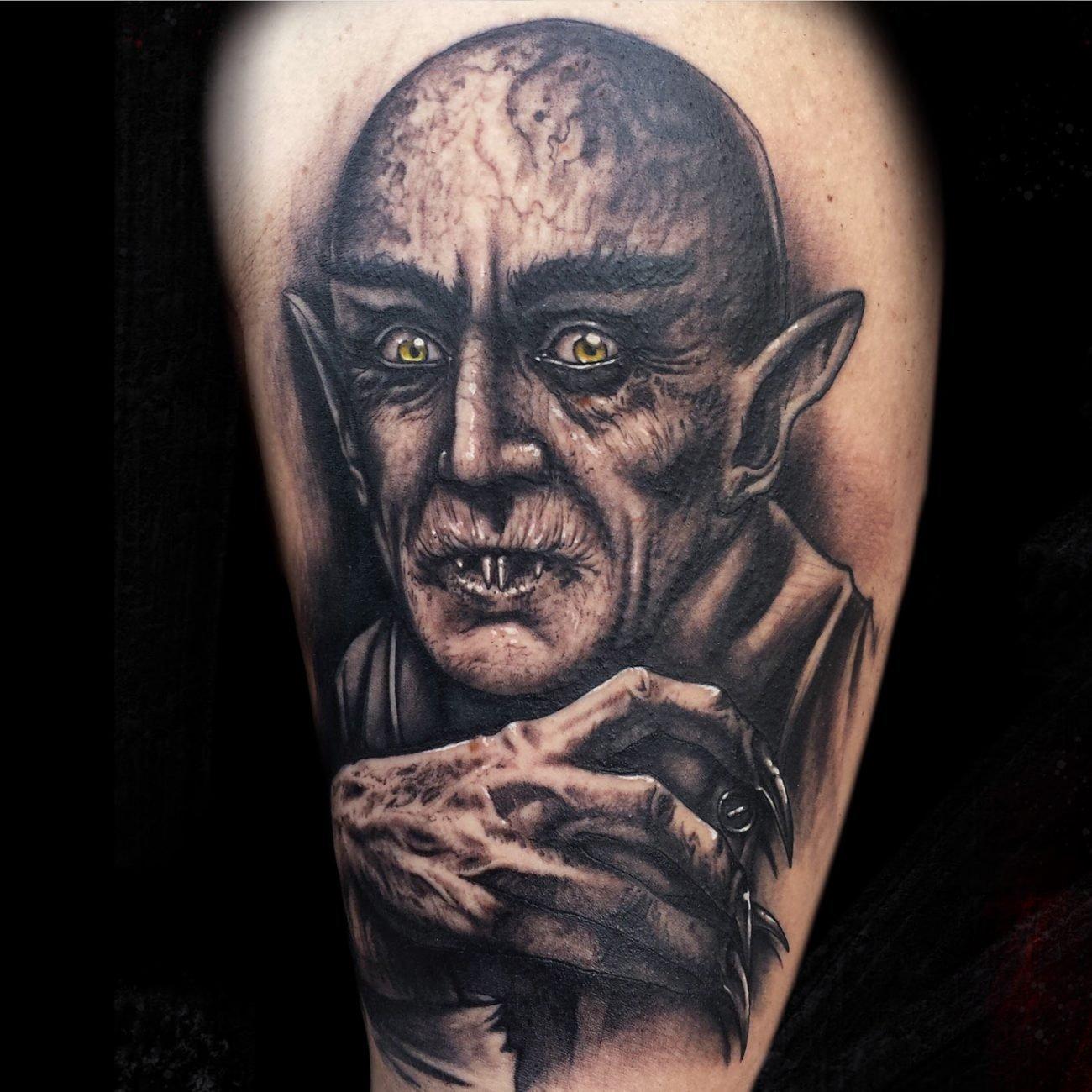 tatuaje nosferatu