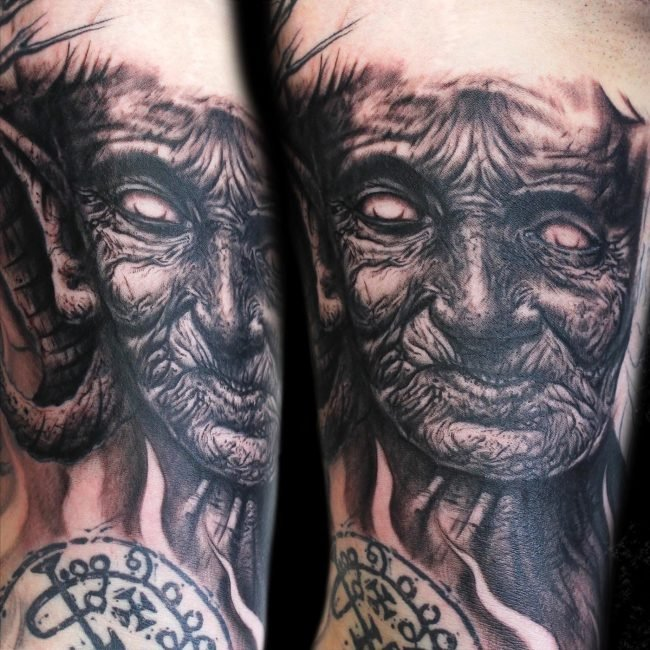 demonio tatuaje