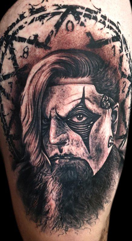 James Root tattoo