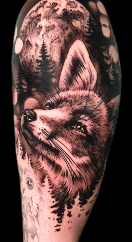 Zorro tattoo